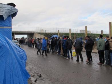 Calais - rot op 2015