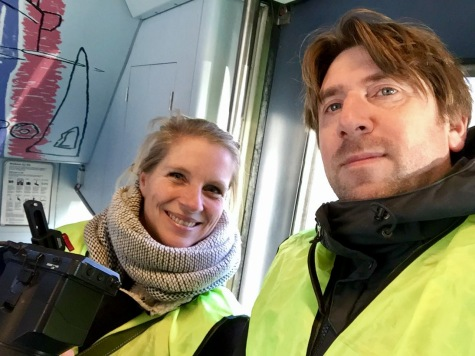 Draaien in trein voor APG 2018